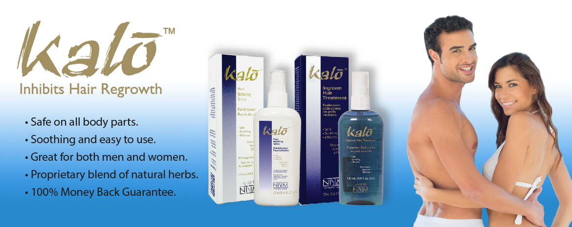 Hair Inhibitor Products By Nisim Kalo Hair Removal